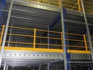 Plateforme 9 a deux niveaux